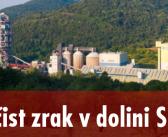 Levica Goriška: Onesnaževanje s sežiganjem odpadkov v Salonitu Anhovo je problem
