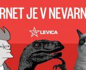 Podpora protestu proti ugrabitvi interneta (26.8. Prešernov trg, LJ)