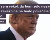 Slovenija kupuje, kar Donald Trump zahteva