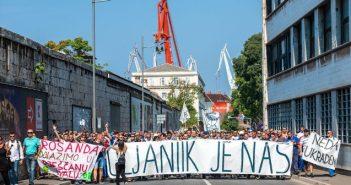 Solidarnost z delavci v puljskem Uljaniku in reškem 3. maju
