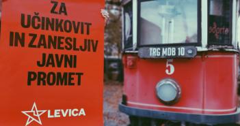Levica Ljubljana: Za nižje cene LPP in brezplačni prevoz za starostnike