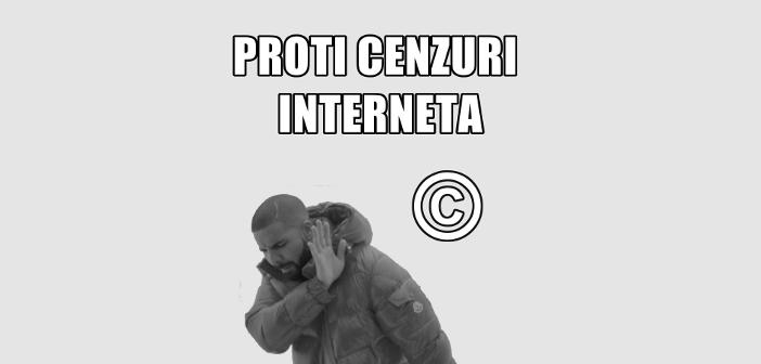 Pismo podpore: shod proti uničenju interneta v EU
