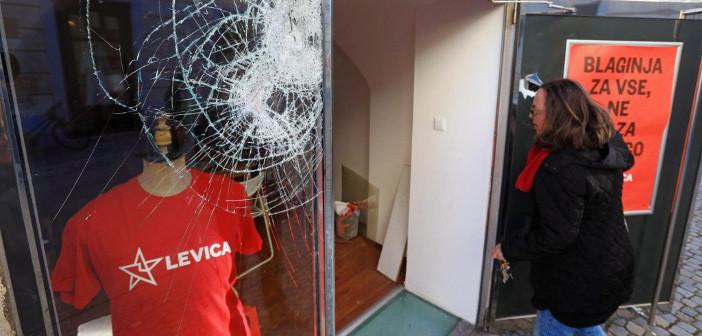 Levica Maribor: Ne bomo se ustrašili razbitega stekla!