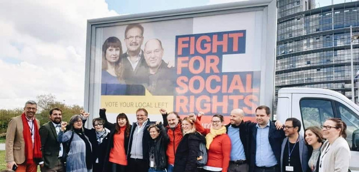 Evropska levica s spitzenkandidatko Violeto Tomić začela kampanjo za evropske volitve