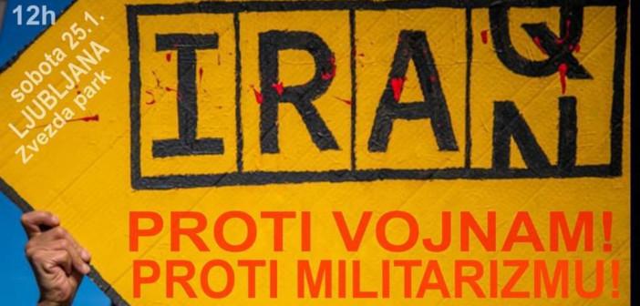 Pismo podpore: Shod proti vojnam in militarizmu