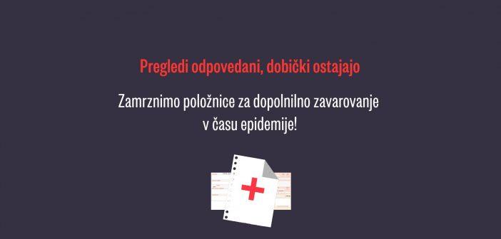 Komercialne zavarovalnice so v času krize z dopolnilnim zavarovanjem zaslužile 20 milijonov evrov