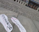 Proti pregonu protestnikov in kriminalizaciji političnega izražanja