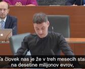 Miha Kordiš: govor ob interpelaciji Zdravka Počivalška