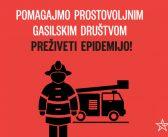 Poslanska pobuda za zagotovitev financiranja prostovoljnih gasilskih društev v času koronakrize