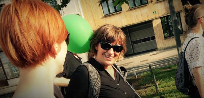 Nataša Sukič ob 20. paradi ponosa v Ljubljani