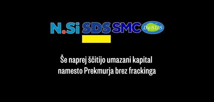 Levica s ponovnim predlogom za prepoved frackinga