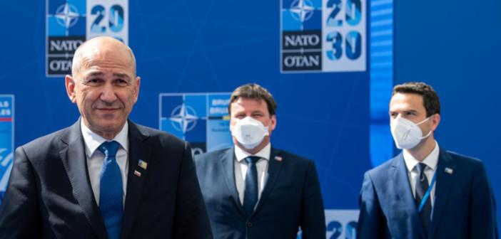Ob vrhu NATO pakta v Bruslju