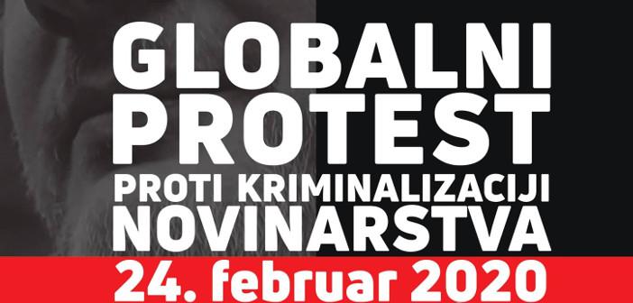Pismo podpore shodu proti kriminalizaciji novinarstva