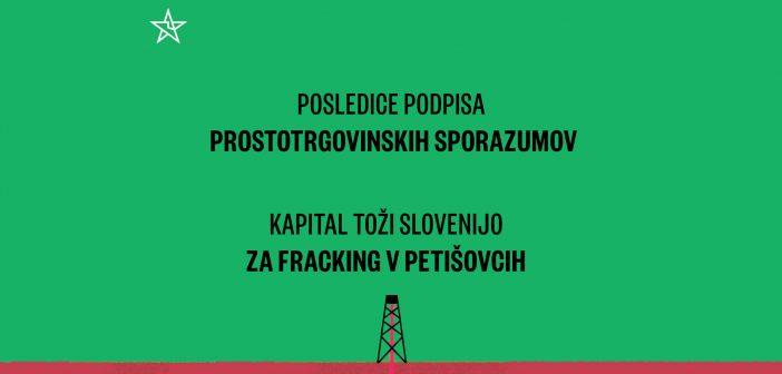 Kapital toži Slovenijo za fracking v Petišovcih