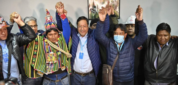 Čestitke MAS-IPSP za zmago v Boliviji