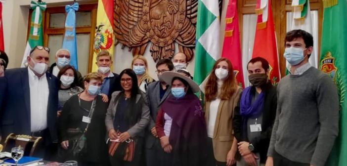 Obsodba napadov na mednarodne opazovalce volitev v Boliviji