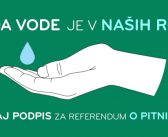 Pridružujemo se referendumski iniciativi Za pitno vodo!
