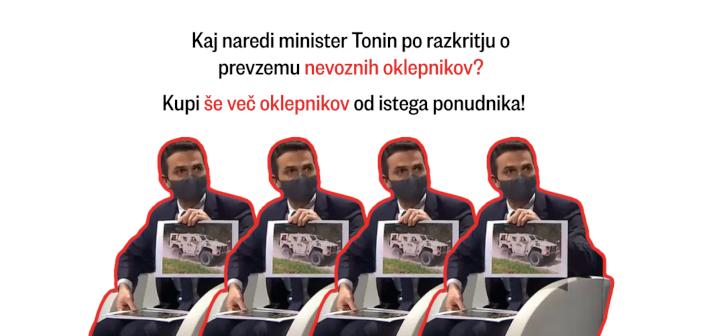 Minister Tonin kupuje bi še več nevoznih Oshkoshev